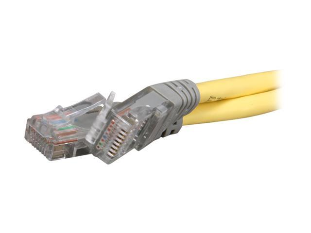 BELKIN A3X126-07-YLW-M 7 ft. Cat 5E (Crossover) Yellow Color Cable