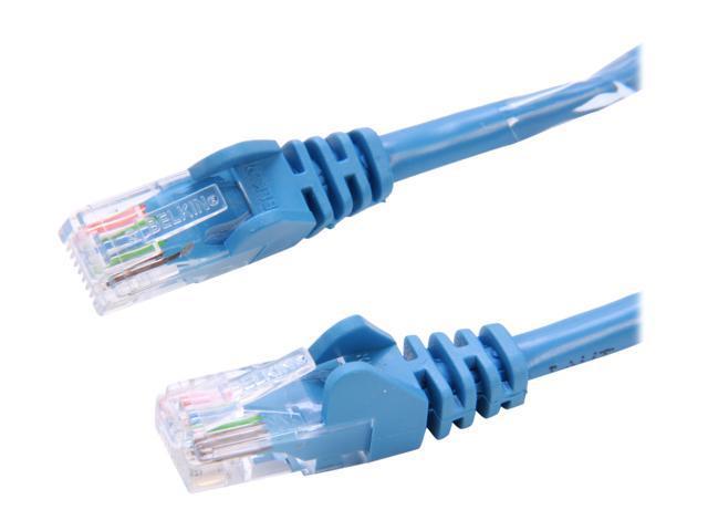 BELKIN A3L791-25-BLU-S 25 ft. Cat 5E Blue Color Network Cable