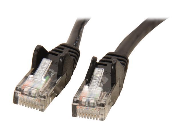 BELKIN A3L791-05-BLK-S 5 ft. Cat 5E Black Color Patch Cable