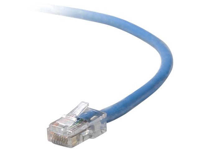 BELKIN A3L791-12-BLU-S 12 ft. Cat 5E Blue Color RJ45M/RJ45M Snagless Patch Cable