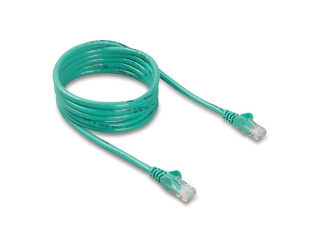 BELKIN A3L791-07-GRN-S 7 ft. Cat 5E Green Color UTP RJ45M/RJ45M Snagless Patch Cable