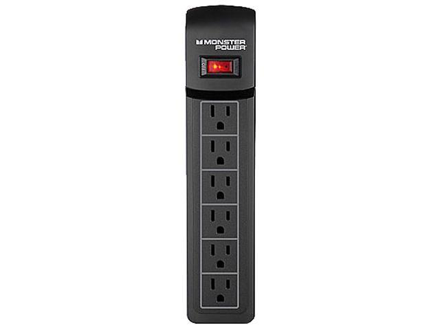 MONSTER 121820-00 (MP ME 600) 4 ft. 6 Outlets 720 Joules Essentials 600 Surge Suppressor