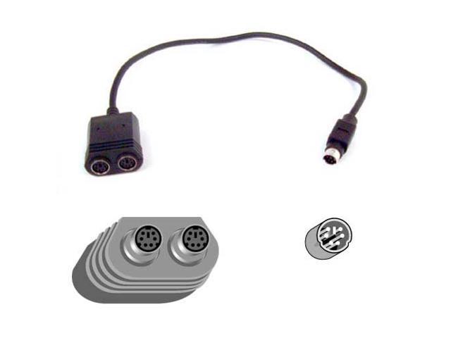 Belkin Model F3G117-01 Keyboard-Mouse Splitter Cable