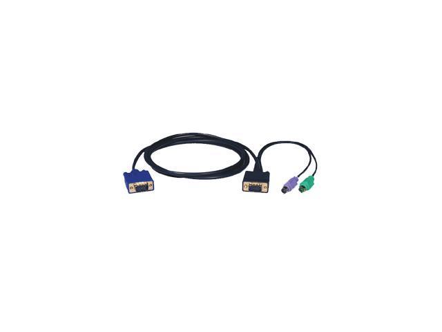 TRIPP LITE 15 ft. PS/2 (3-in-1) KVM cable kit P750-015