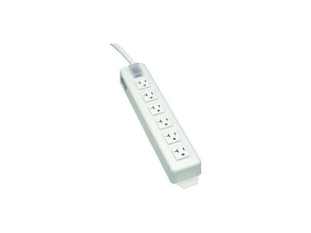TRIPP LITE TLM615NC20 6 Outlets Power Strip 120V Input Voltage 2400W Maximum Power 15 Feet Cord Length