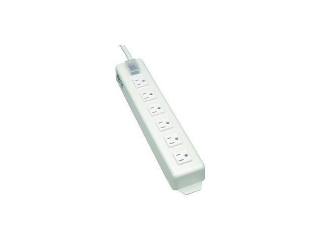 TRIPP LITE TLM615NCRA 6 Outlets Power Strip 120V Input Voltage 1800W Maximum Power 15 Feet Cord Length
