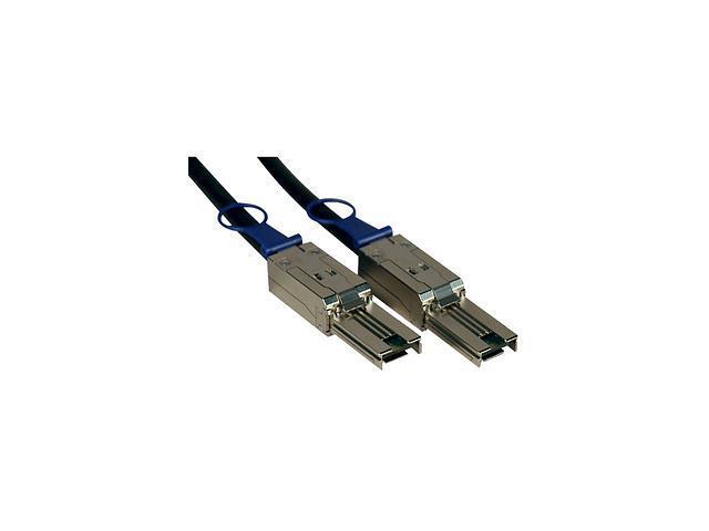Tripp Lite Model S524-01M 3.28 ft. External 4 Lane Mini-SAS (SFF-8088) to Mini-SAS (SFF-8088) SAS Cable