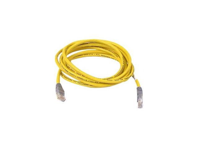 BELKIN A3X126-12-GRN-S 12 ft. Cat 5E Green Color Snagless Crossover Patch Cable