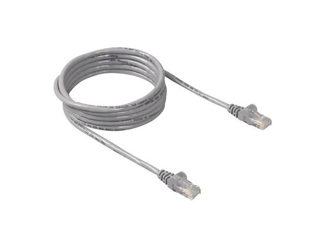 BELKIN A3L980-50-S 50 ft. Cat 6 Gray Color High Performance UTP Patch Cable