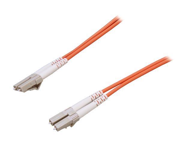 Link Depot FOM5-LCLC-10 32.81ft. (10m) 10 Gb Multimode 50/125 Duplex LSZH Fiber Patch Cable LC - LC