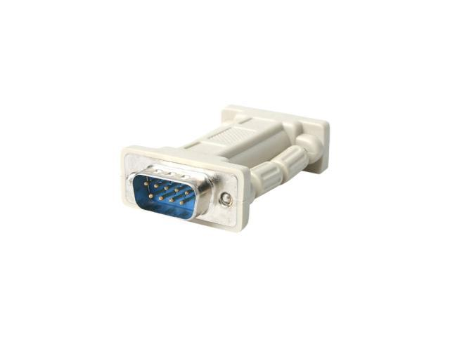 StarTech NM9MF Null Modem Adapter DB9 Male to DB9 Female