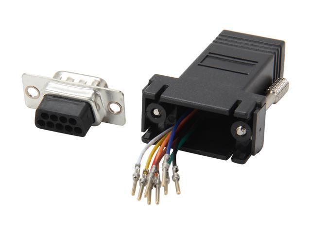 StarTech GC98MF DB9 to RJ45 Modular Adapter - M/F