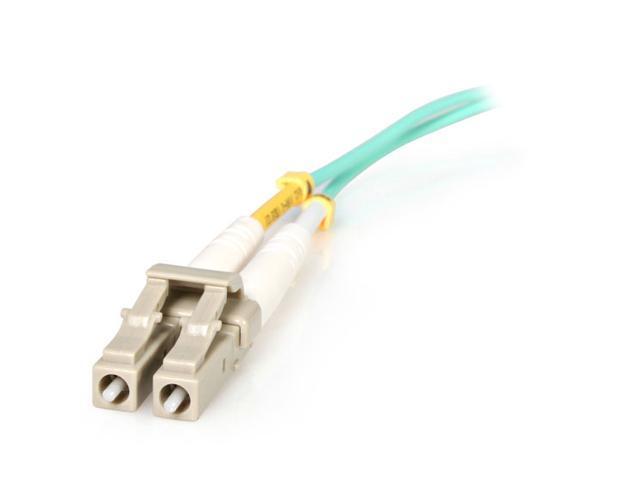 StarTech A50FBLCLC5 16.40 ft. Aqua Multimode 50/125 Duplex LSZH Fiber Patch Cable