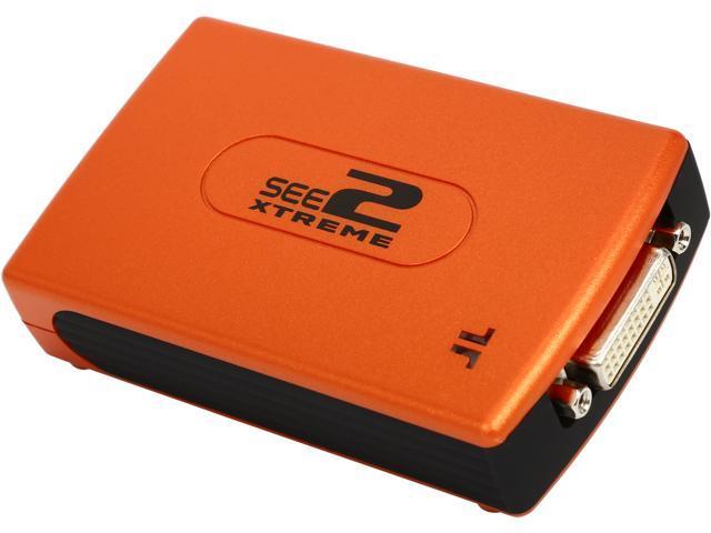 TRITTON SEE2 Xtreme - USB to DVI Adapter W/DVI-VGA ADAPTER, TRIUV-200