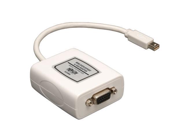 Tripp Lite P137-06N-VGA 6 Inch Mini Displayport to VGA Adapter
