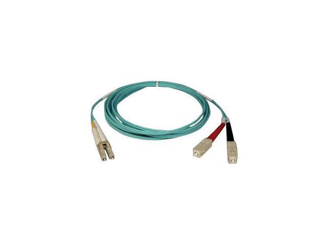 Tripp Lite Aqua Duplex Fiber Patch Cable