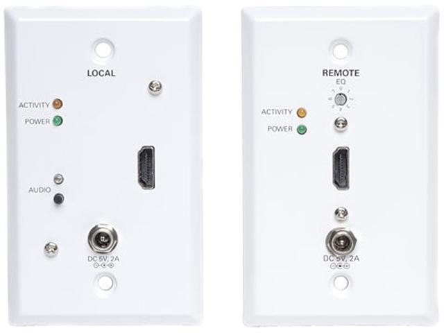 Tripp Lite B126-1A1-WP HDMI Over Cat5 Active Wallplate Extender Kit