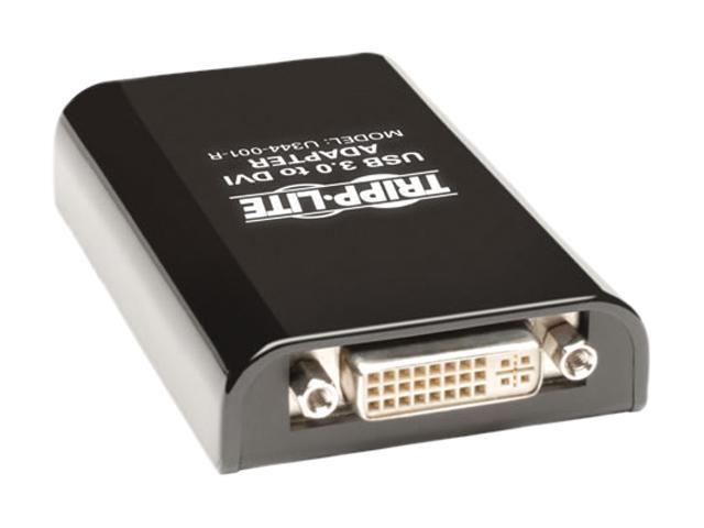 Tripp Lite U344-001-R USB 3.0 to DVI or VGA Adapter