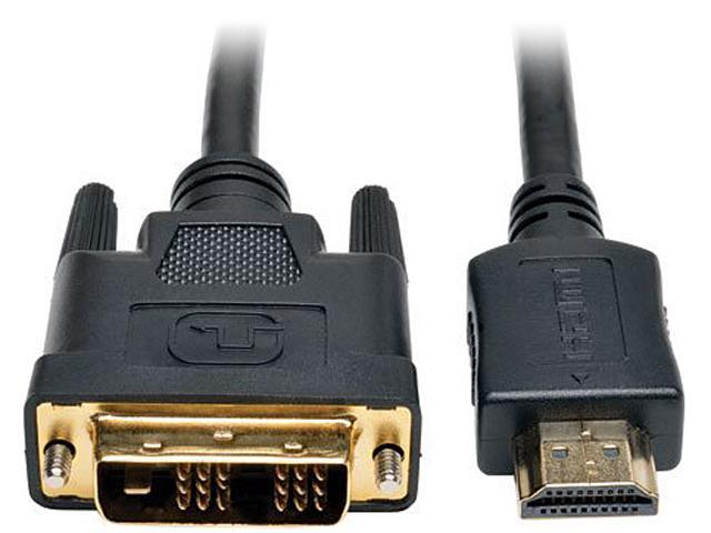 Tripp Lite P566-020 20 ft. HDMI to DVI Cable, Digital Monitor Adapter Cable (HDMI to DVI-D M/M)