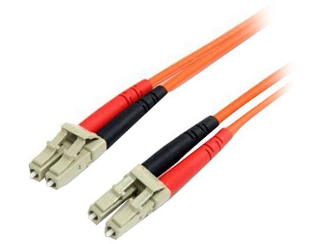 StarTech FIBLCLC5 16.4 ft. Multimode 62.5/125 Duplex Fiber Patch Cable LC - LC