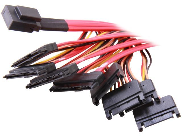 Model SAS808782P50 1.6 ft. Internal Serial Attached SCSI Mini SAS Cable