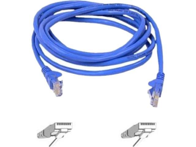 BELKIN A3L980-05-BLU 5 ft. Cat 6 Blue Color CAT6 Snagless Networking Cable
