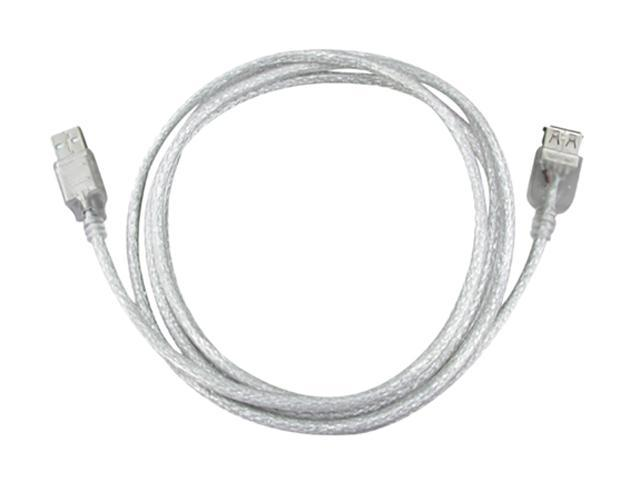 Insten 675374 6 ft. White USB 2.0 Cable (5 pack)