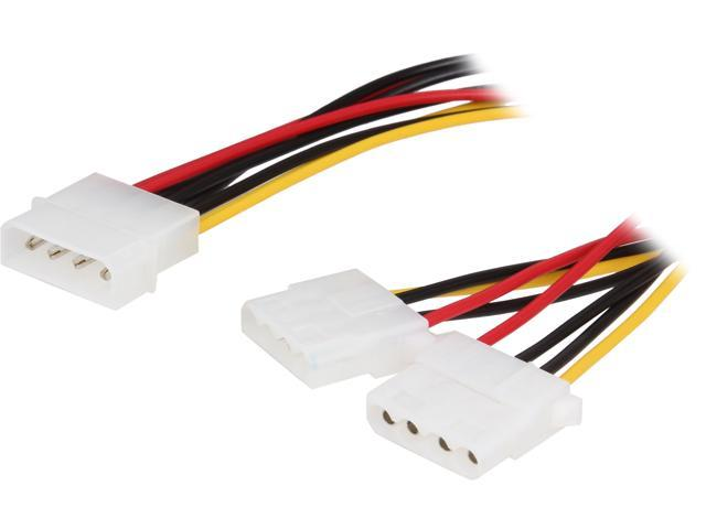 VCOM VC-IDE4YPW 4-Pin IDE Y Power Splitter Cable