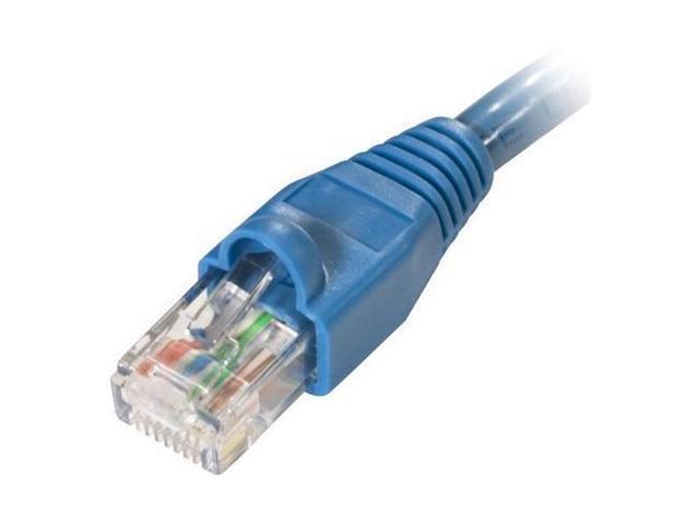 Steren 308-907BL 7 ft. Cat 6 Blue Color Fast Media UTP Patch Cord