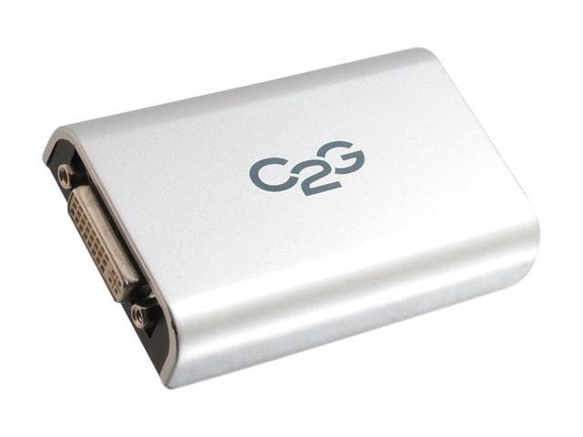 C2G 30546 USB to DVI Adapter Up To 2048 x 1152