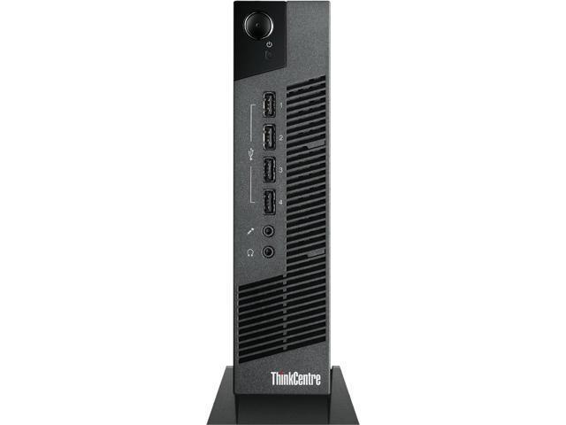 Lenovo ThinkCentre 10BV000AUS Ultra Small Thin Client - Intel Celeron 847 1.10 GHz - Business Black