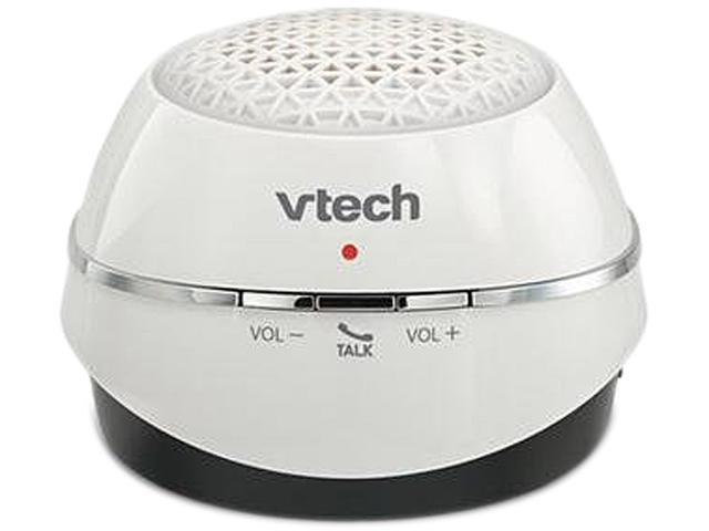 White Wireless Bluetooth® and DECT Speaker