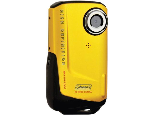 COLEMAN CVW9HD-Y 8.0 Megapixel 1080p HD Xtreme Digital Video Camera (Yellow)