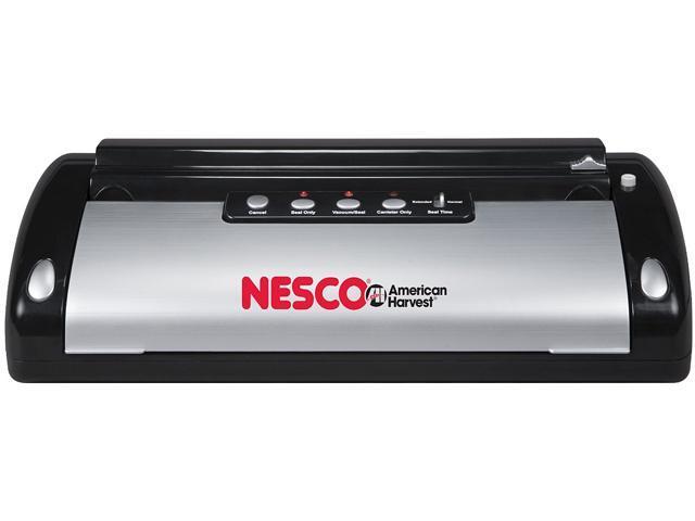 Black 110-Watt Automatic Vacuum Sealer