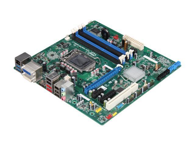 Intel BOXDQ67SWB3 LGA 1155 Intel Q67 SATA 6Gb/s USB 3.0 Micro ATX Intel Motherboard