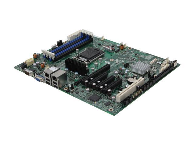Intel S1200BTLR ATX Server Motherboard LGA 1155 Intel C204 DDR3 ECC UDIMM 1066/1333/1600/1333LV