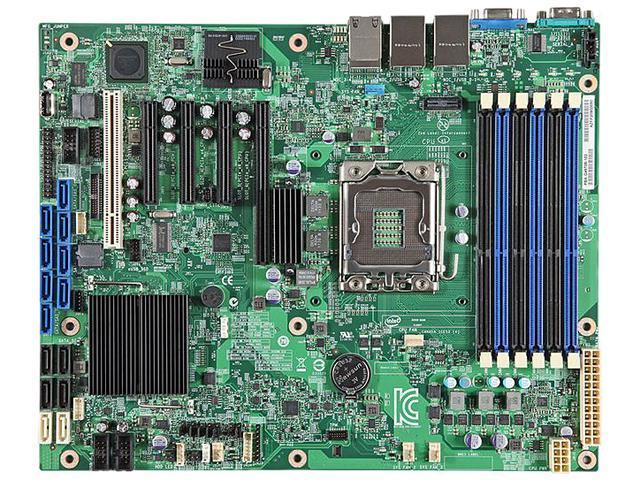 Intel S1400FP2 Server Motherboard - Intel C600-A Chipset - Socket B LGA-1366 - Retail Pack