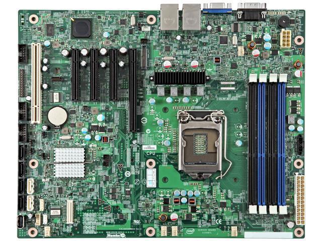 Intel S1200BTLRM Server Motherboard LGA 1155 Intel C204 DDR3