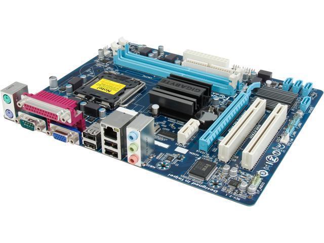 GIGABYTE GA-G41MT-S2PT LGA 775 Intel G41 + ICH7 Micro ATX Intel Motherboard