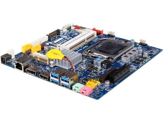 GIGABYTE GA-H77TN LGA 1155 Intel H77 HDMI SATA 6Gb/s USB 3.0 Thin mini-ITX Intel Motherboard