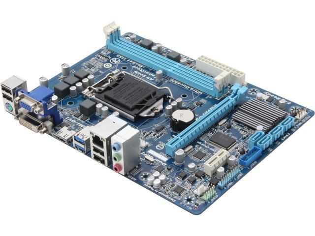 GIGABYTE GA-H61M-USB3H LGA 1155 Intel H61 HDMI USB 3.0 Micro ATX Intel Motherboard with UEFI BIOS