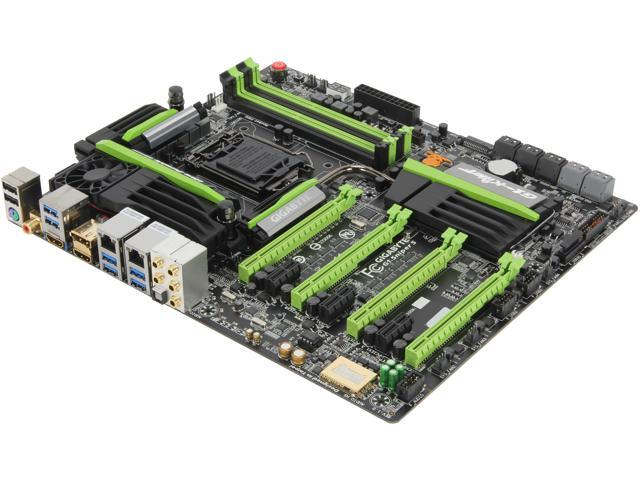 GIGABYTE G1.Sniper 5 LGA 1150 Intel Z87 HDMI SATA 6Gb/s USB 3.0 Extended ATX Intel Motherboard with UEFI BIOS