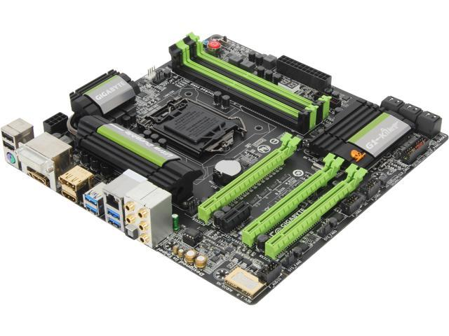 GIGABYTE GA-G1.Sniper M5 LGA 1150 Intel Z87 SATA 6Gb/s Micro ATX Intel Motherboard