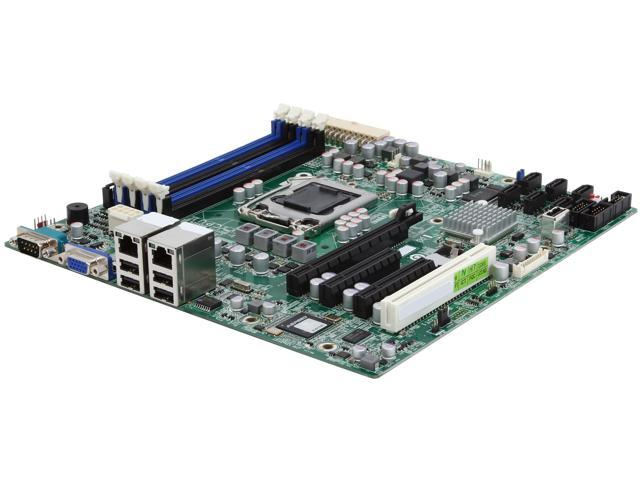GIGABYTE 6UASV3 Micro ATX Server Motherboard LGA 1155 Intel C202 (Cougar Point) PCH DDR3 1600/1333/1066