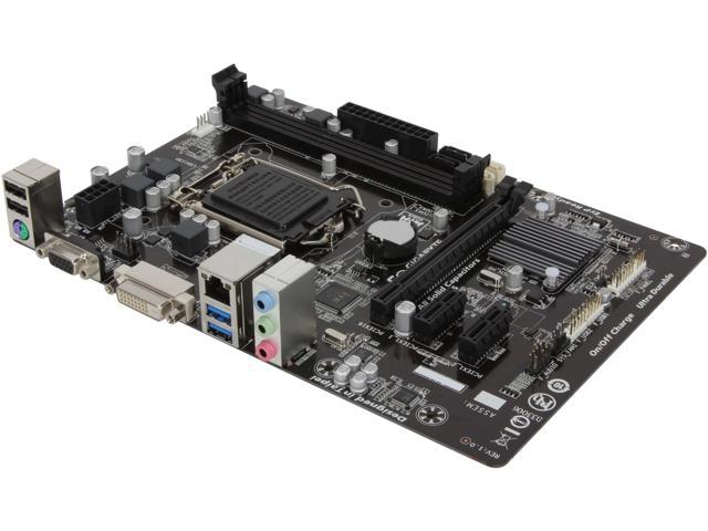GIGABYTE GA-H81M-DS2V (rev. 1.0) LGA 1150 Intel H81 SATA 6Gb/s USB 3.0 Micro ATX Intel Motherboard
