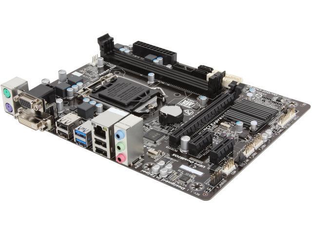 GIGABYTE GA-B85M-D2V LGA 1150 Intel B85 SATA 6Gb/s USB 3.0 Micro ATX Intel Motherboard