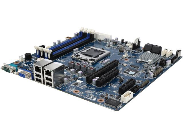 GIGABYTE GA-6LASL Micro ATX Server Motherboard LGA 1150 Intel C222 DDR3 1600/1333
