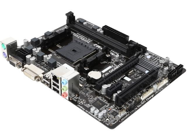 GIGABYTE GA-F2A58M-DS2 FM2+ / FM2 AMD A58 (Bolton D2) Micro ATX AMD Motherboard