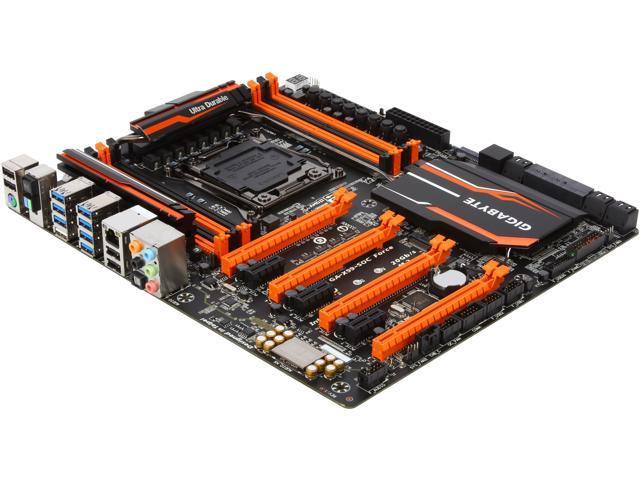 GIGABYTE GA-X99-SOC FORCE LGA 2011-v3 Intel X99 SATA 6Gb/s USB 3.0 Extended ATX Intel Motherboard