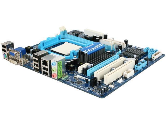 GIGABYTE GA-MA78LMT-S2 AM3 AMD 760G Micro ATX AMD Motherboard